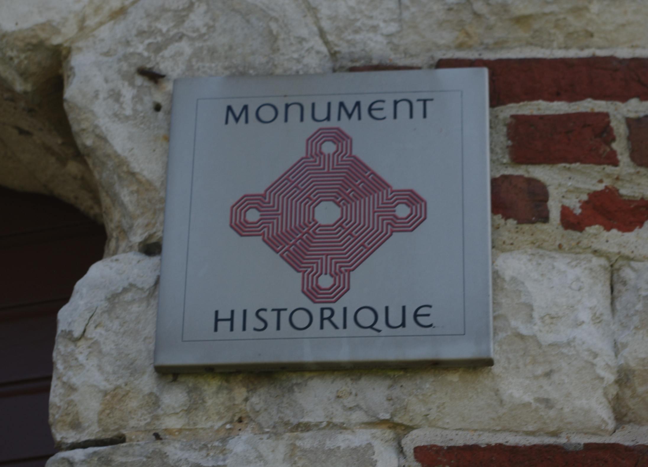 zoom plaque monument historiquemoulin beuvry