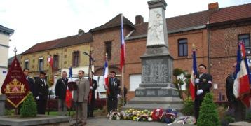 monument beuvry 8 mai 2009
