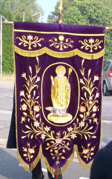 banière des charitables de Beuvry
