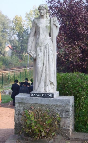 exactitude statue parc quinty