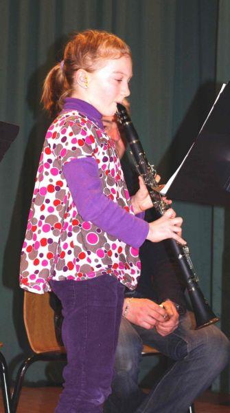 Remise de diplômes à l'école de Musique de Beuvry dans Festivités clarinettiste