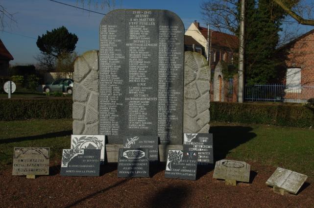 monument aux morts et plaques commémoratives beuvry