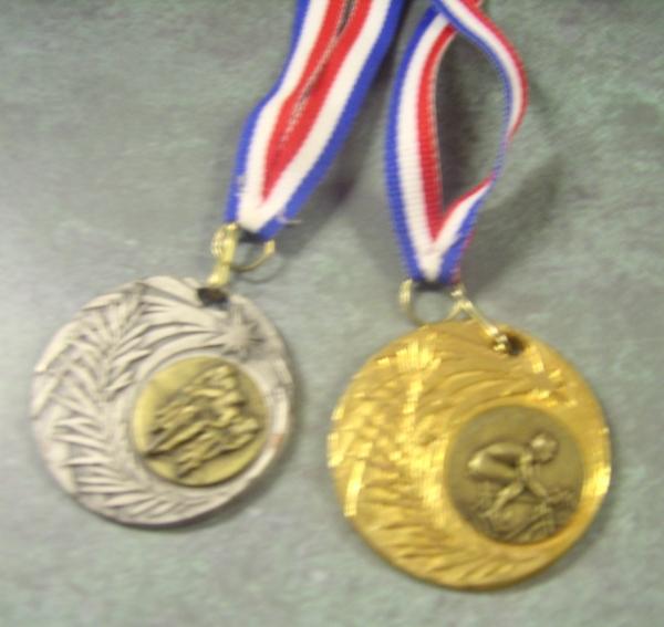 vtt médailles