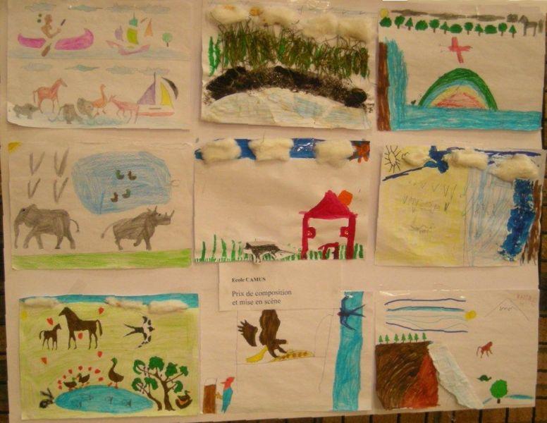 dessins enfants écoles beuvry