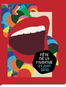 affiche fête de la musique 2010