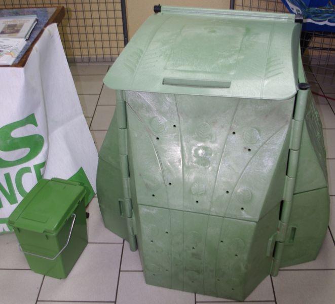 composteur vert