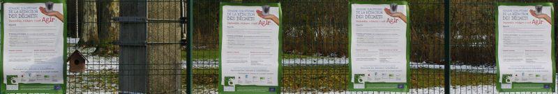 4 affiches semaine européenne de réduction des déchets