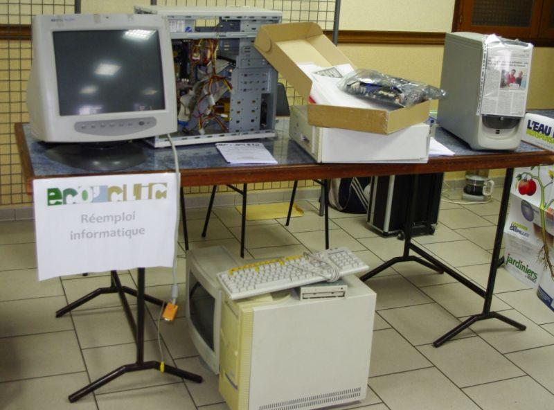 récupération de matériel informatique