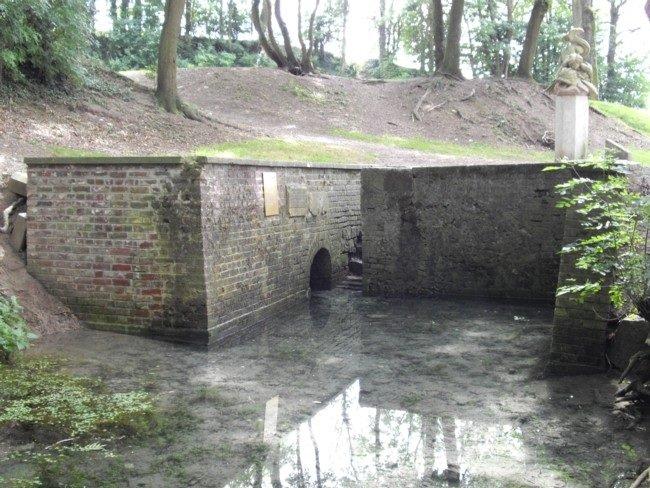 source de la rivière l'escaut