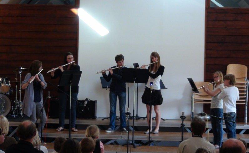 audition-flutes enfants dans Musique