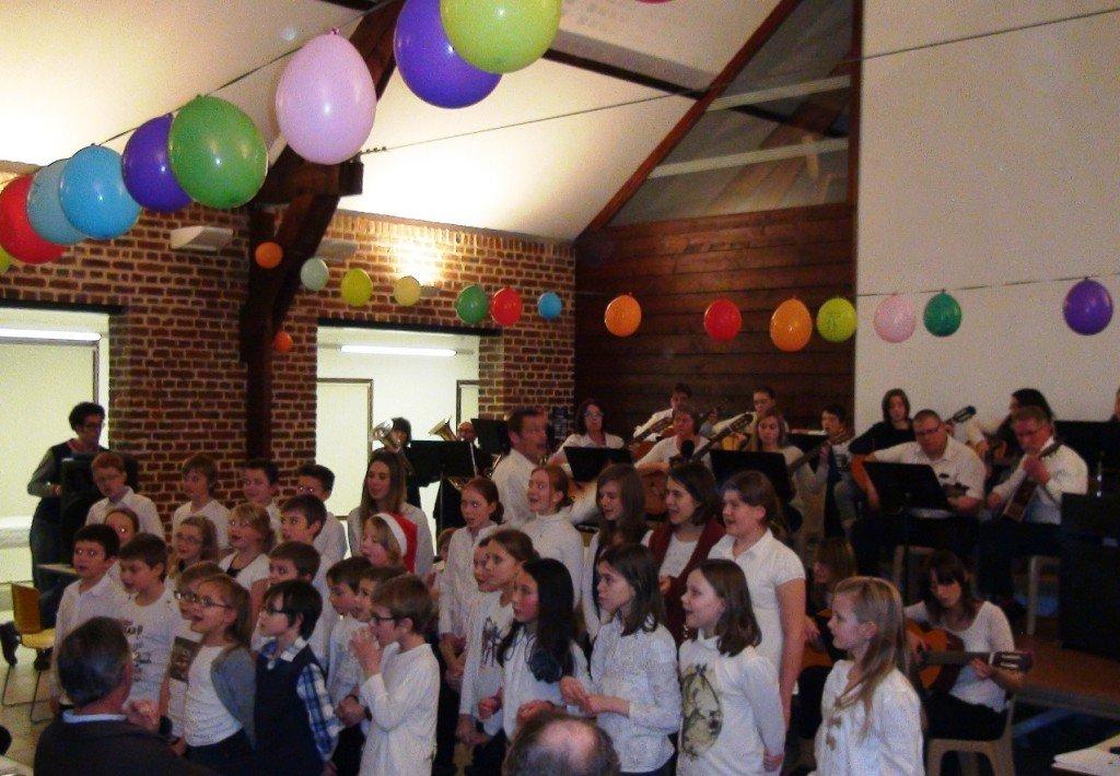 Audition de Noël pour l'école de musique de Beuvry dans Festivités chanteurs-et-musiciens