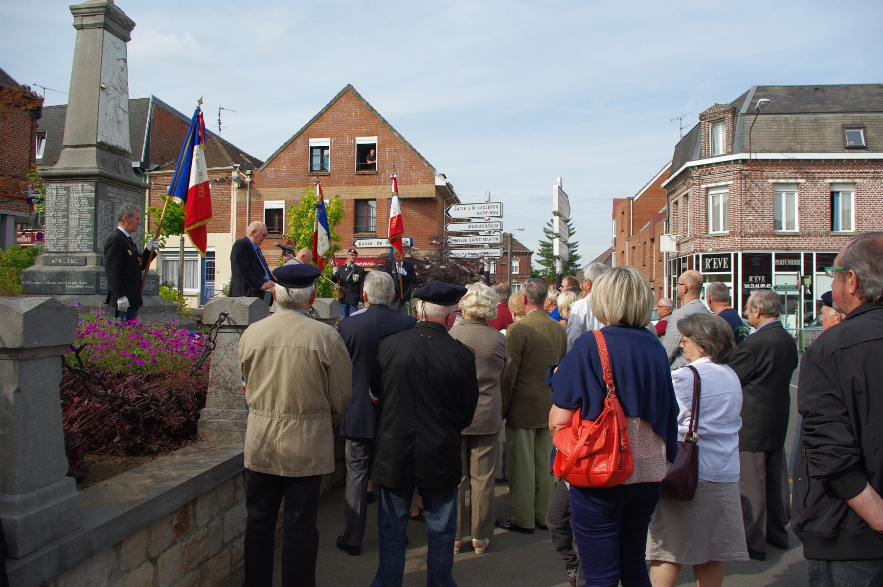 cérémonie 18 juin Beuvry