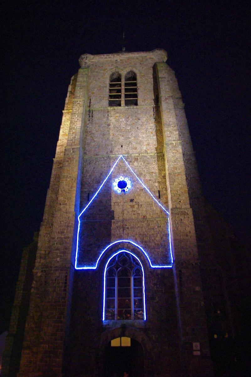 église Beuvry illuminée 2015
